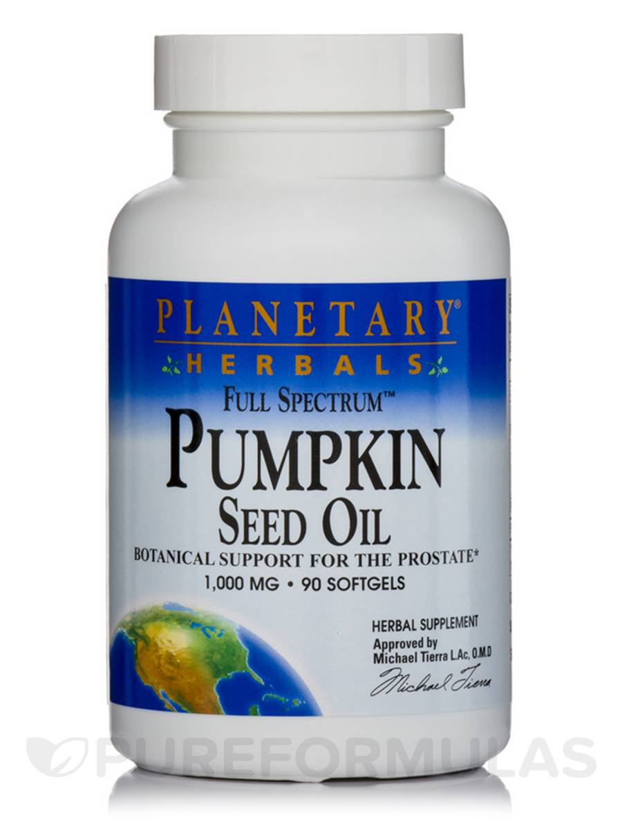 Full Spectrum Pumpkin Seed Oil 1000 mg - 90 Softgels