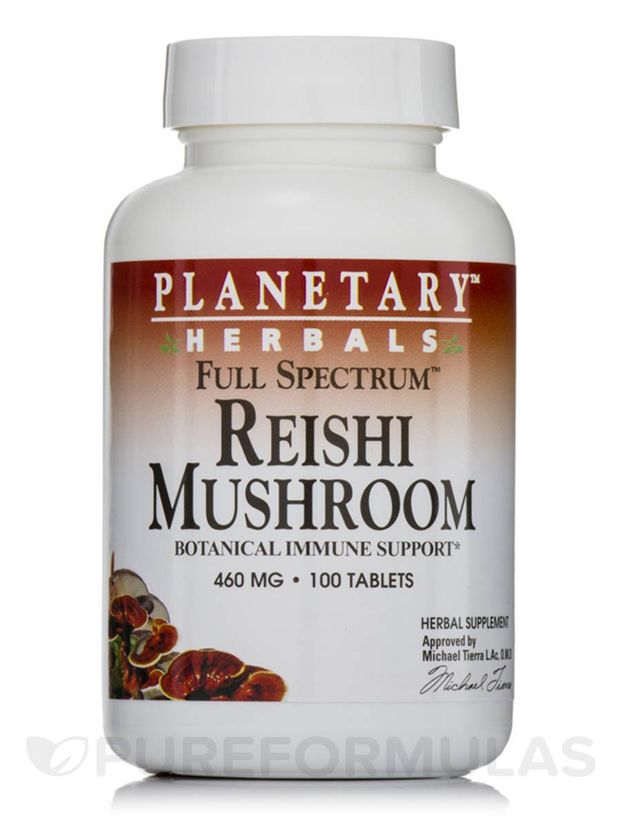 Full Spectrum Reishi Mushroom 460 mg - 100 Tablets