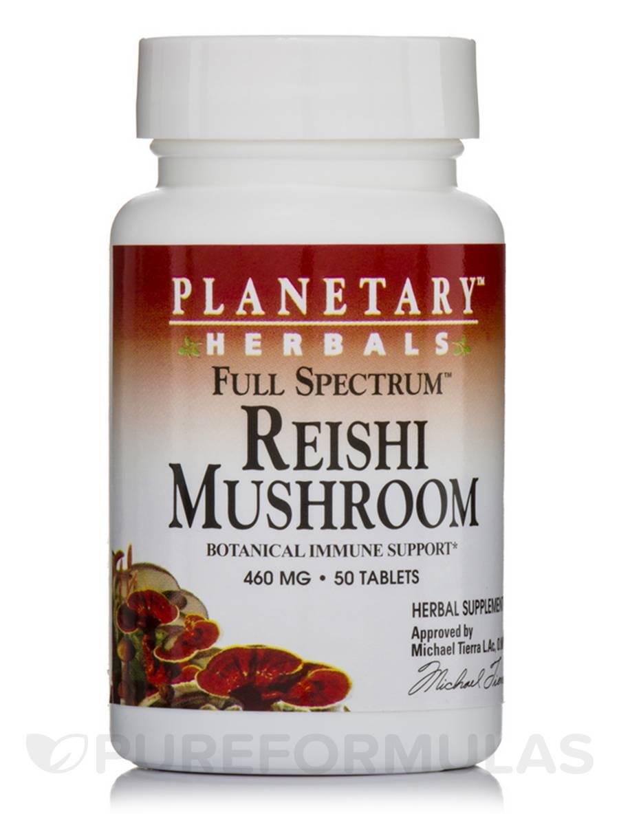 Full Spectrum Reishi Mushroom 460 mg - 50 Tablets
