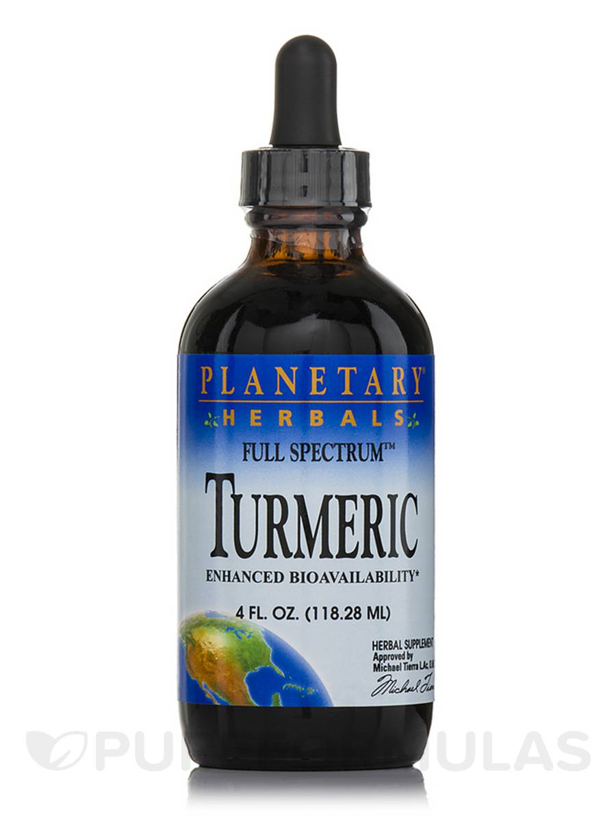 Full Spectrum Turmeric Liquid - 4 fl. oz (118.28 ml)