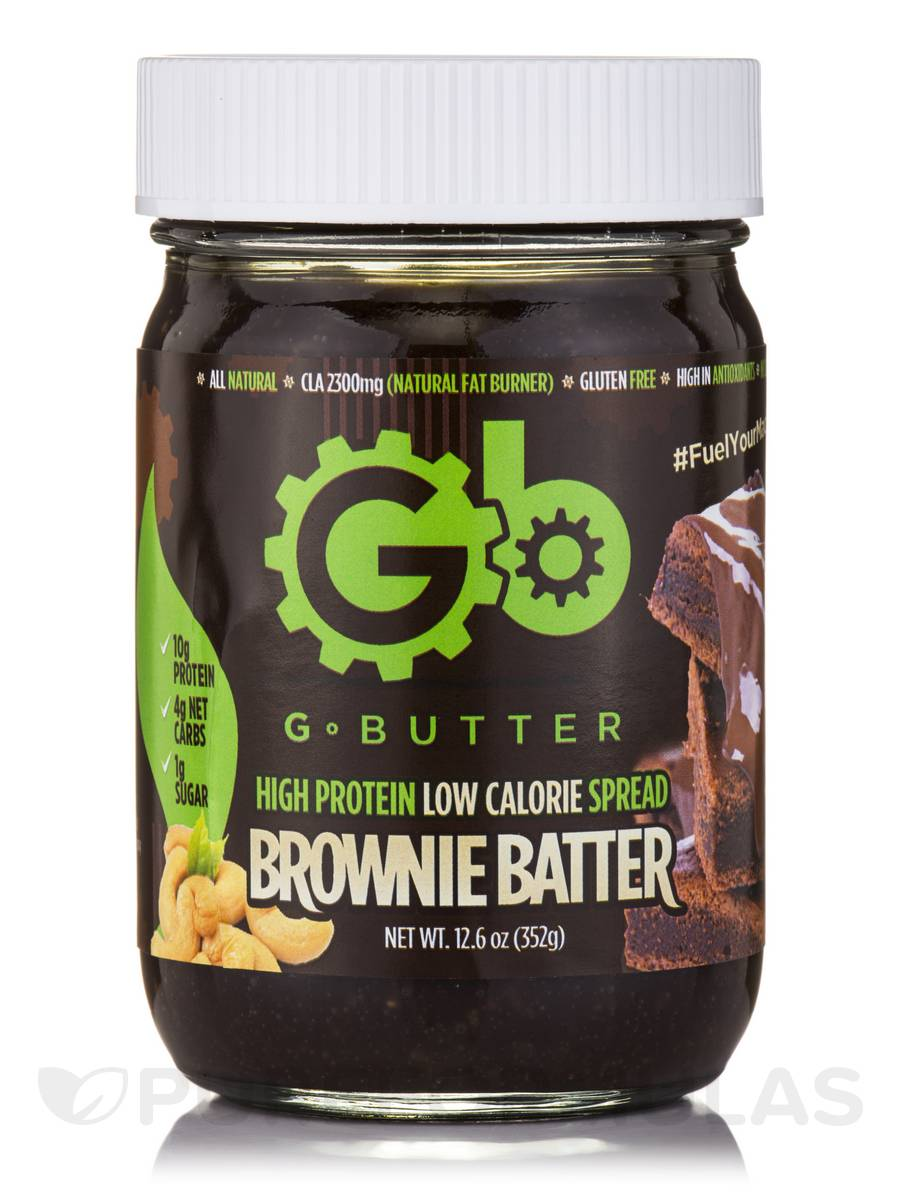 G Butter Brownie Batter (Cashew Spread) - 12.6 oz (352 Grams)