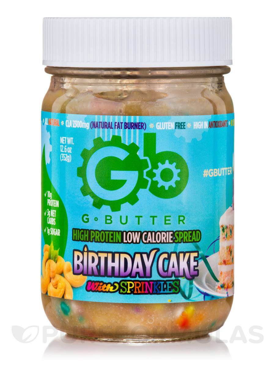 G Butter Birthday Cake With Sprinkles 126 Oz 352 Grams