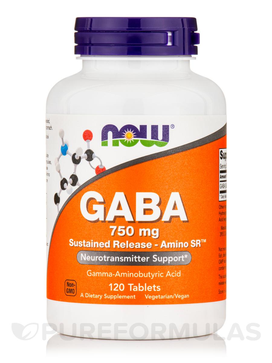 GABA 750 mg - 120 Tablets