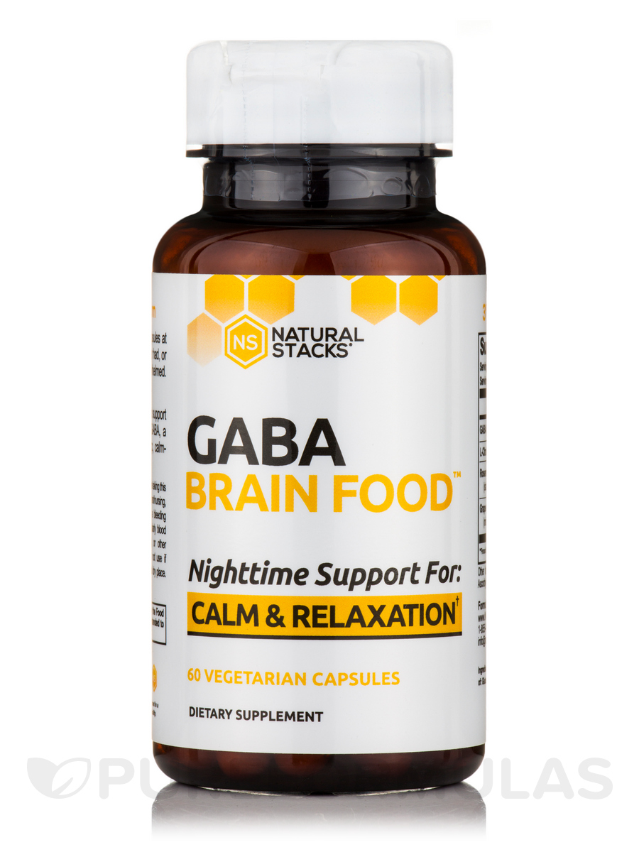 GABA Brain Food™ - 60 Vegetarian Capsules