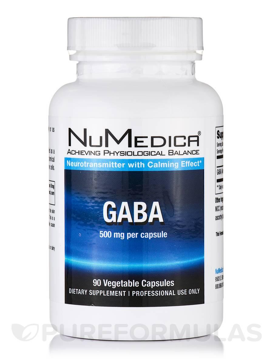 GABA - 90 Vegetable Capsules