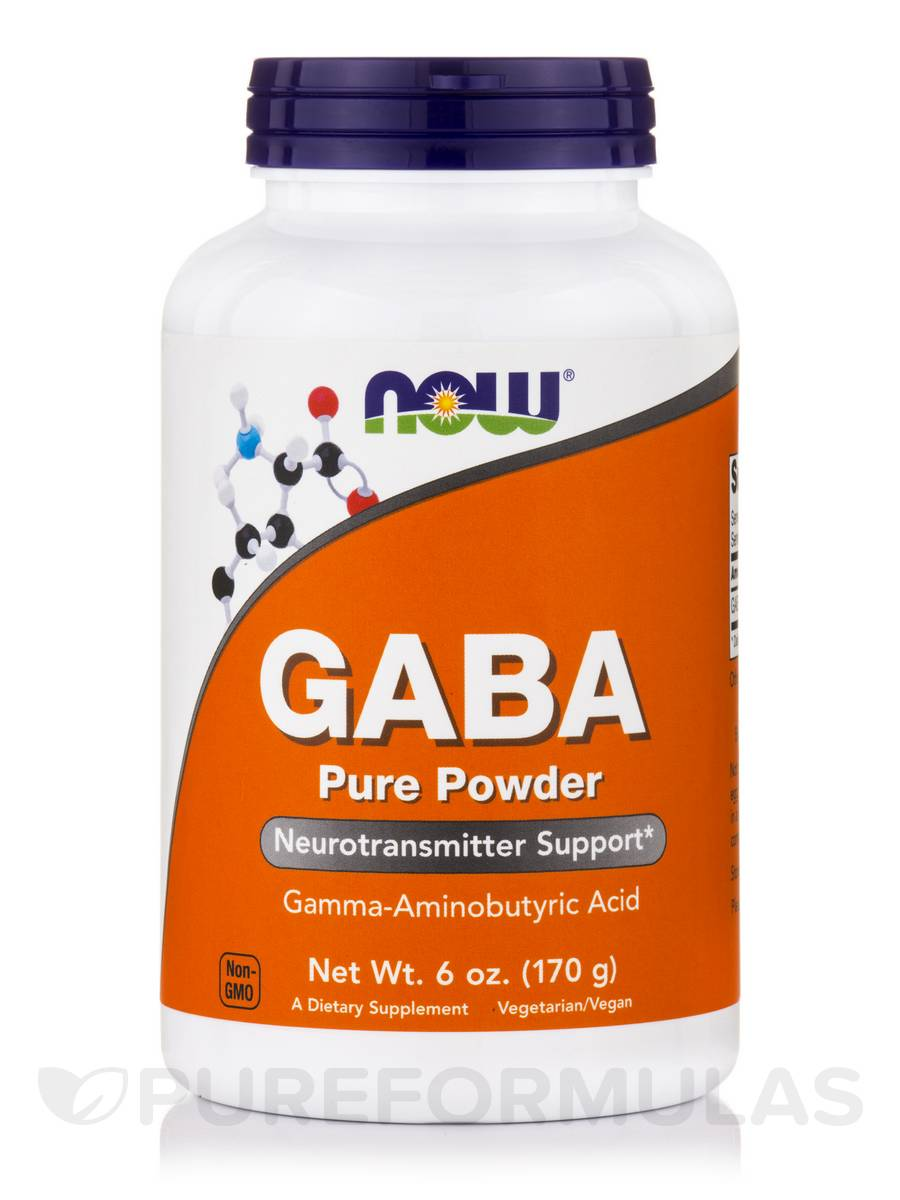 GABA (Pure Powder) - 6 oz (170 Grams)