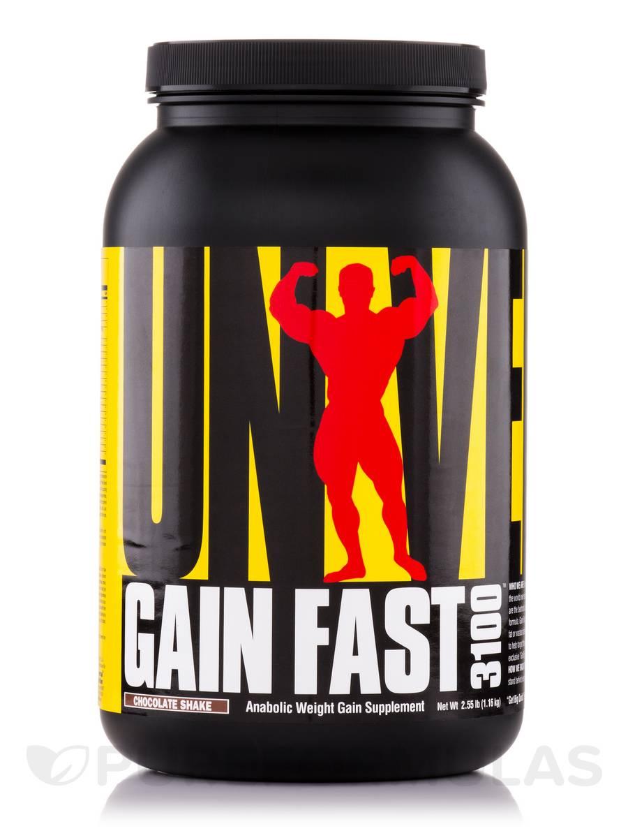 Gain Fast 3100 Chocolate Shake - 2.55 lb (1.16 kg)