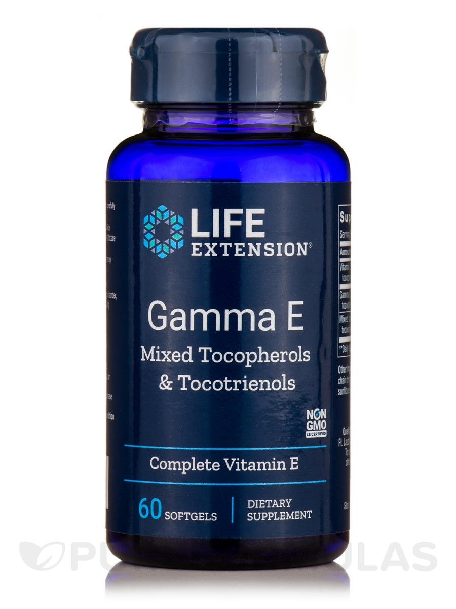 Gamma E Tocopherol/Tocotrienols - 60 Softgels