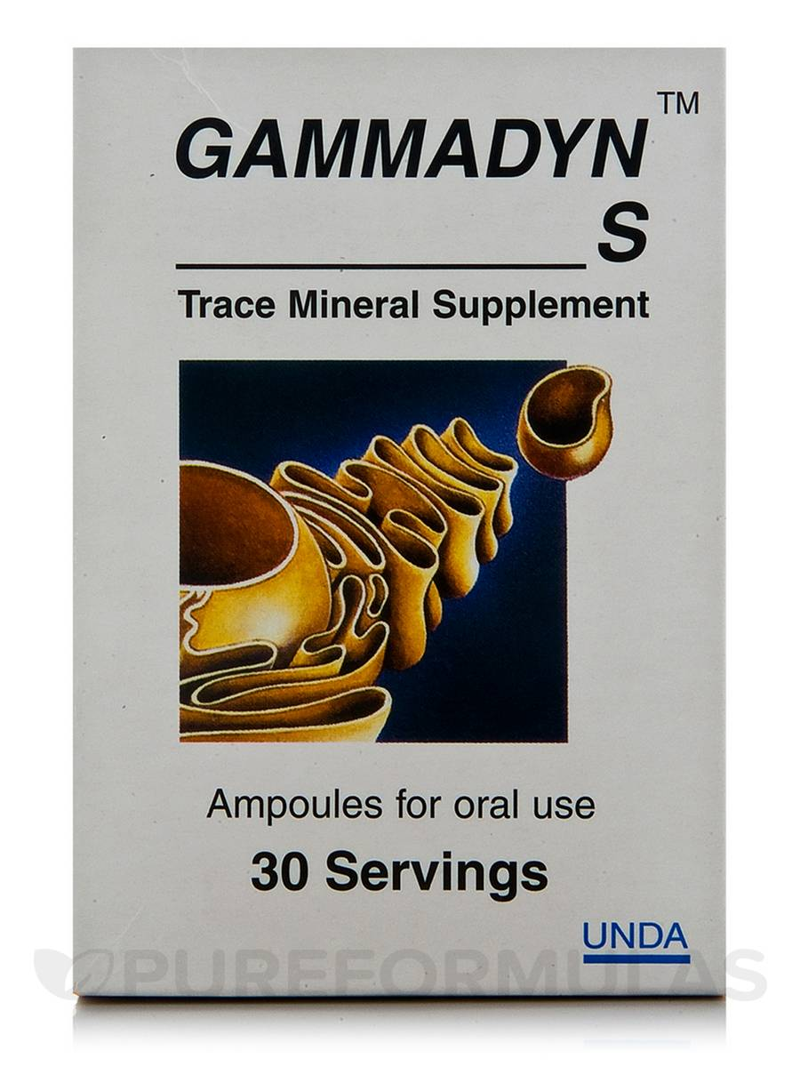 Gammadyn S - 30 Ampoules