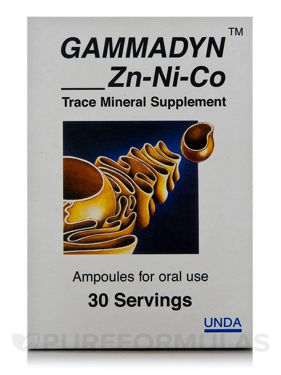 Gammadyn Zn-Ni-Co - 30 Ampoules