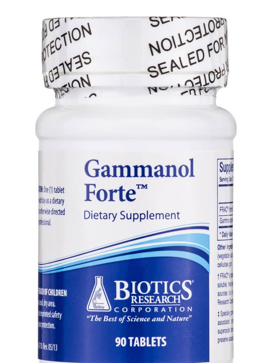 Gammanol Forte - 90 Tablets