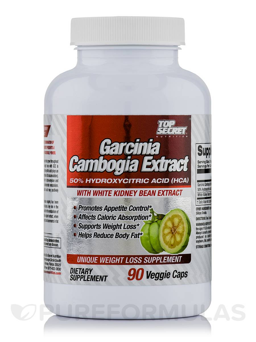 Top Secret Nutrition Garcinia Cambogia Extract 1 Review 2016