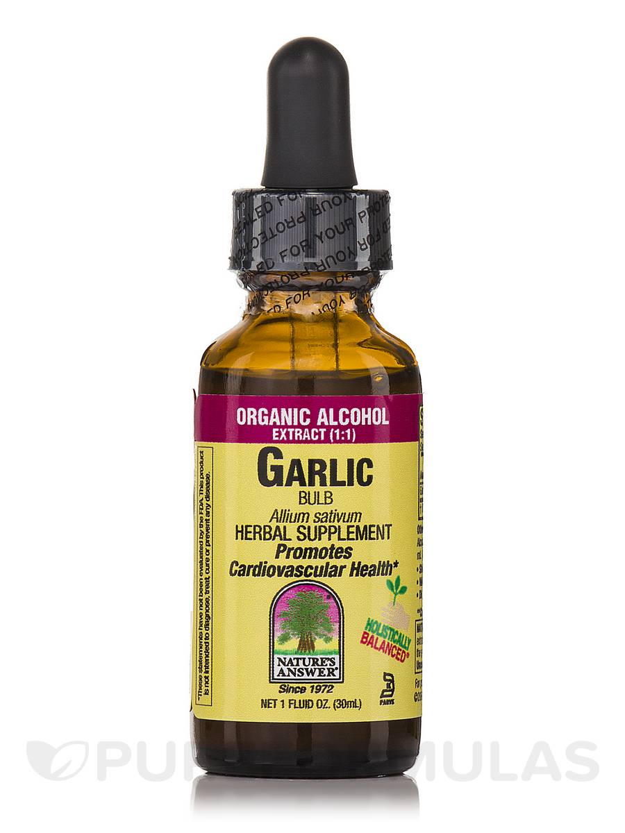 Garlic Bulb Extract - 1 fl. oz (30 ml)