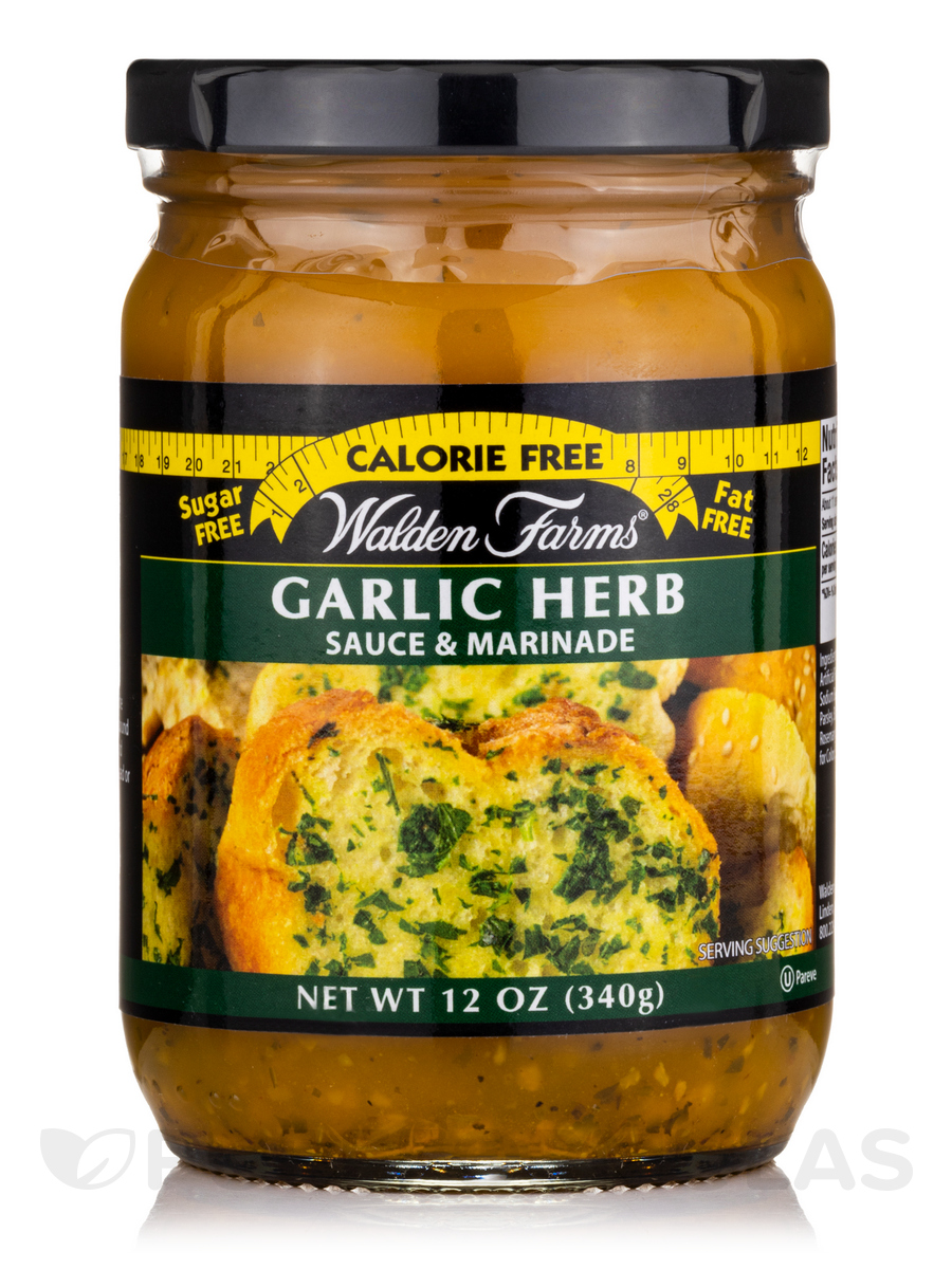 Garlic & Herb Pasta Sauce Jar - 12 oz (340 Grams)