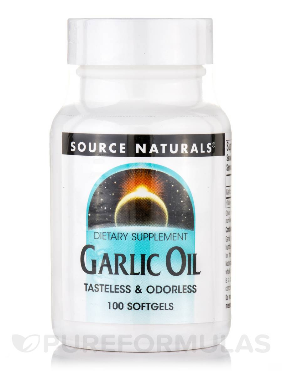 Garlic Oil - 100 Softgels