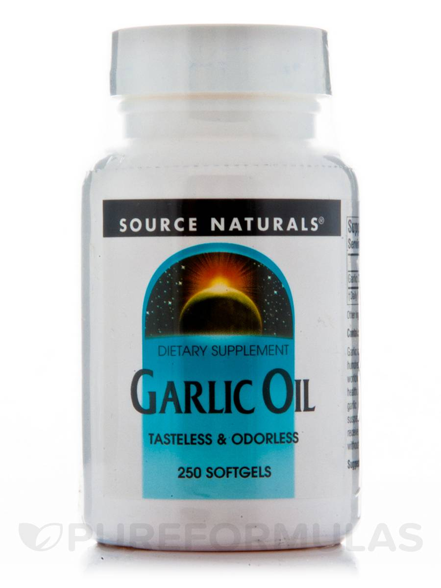 Garlic Oil - 250 Softgels