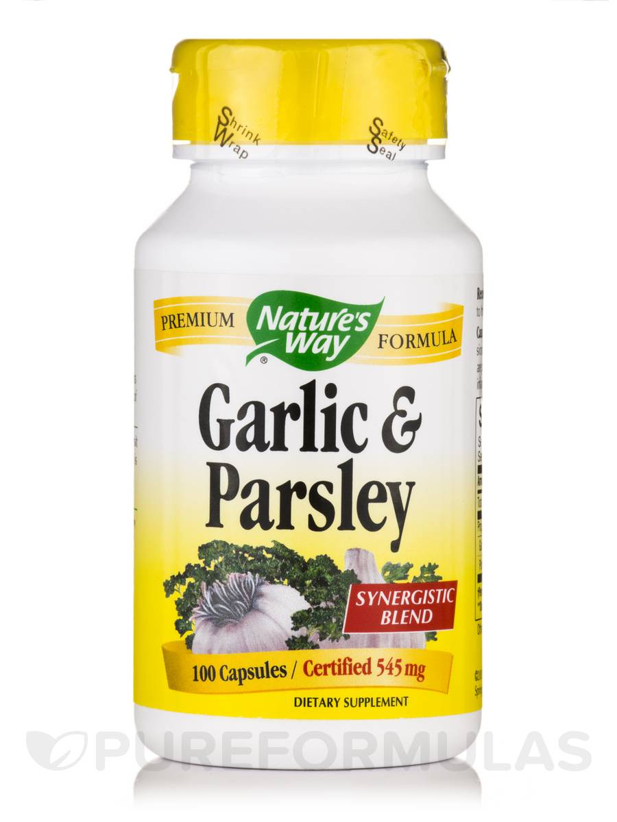 Garlic and Parsley - 100 Capsules