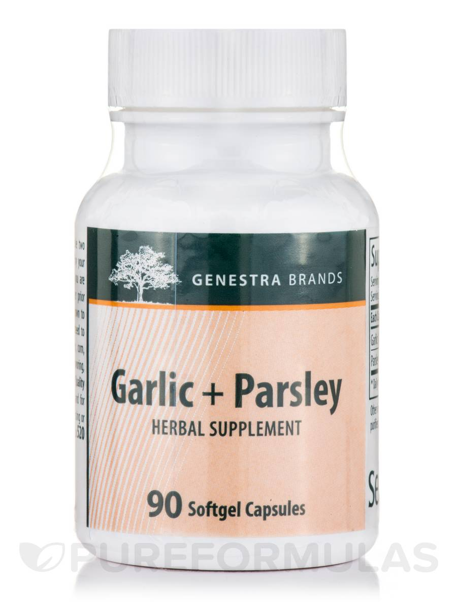 Garlic + Parsley - 90 Softgel Capsules