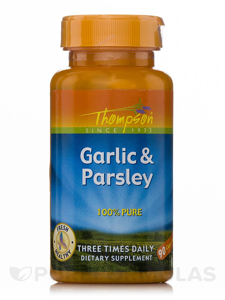 Garlic & Parsley - 90 Capsules