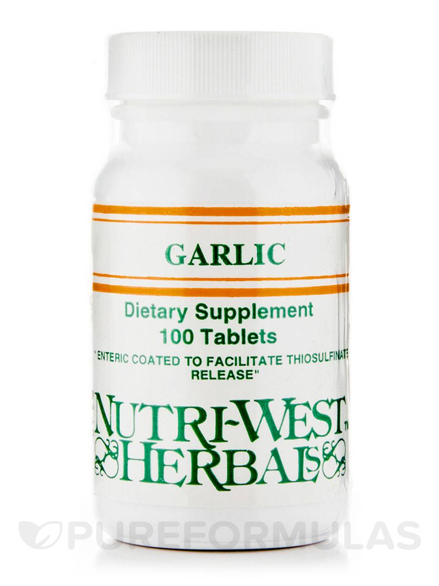 Garlic (Herbals) - 100 Tablets