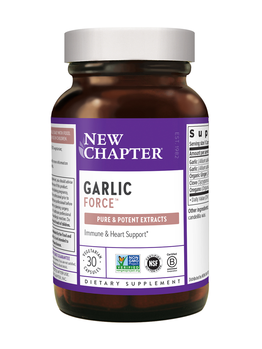 Garlic Force® - 30 Vegetarian Capsules