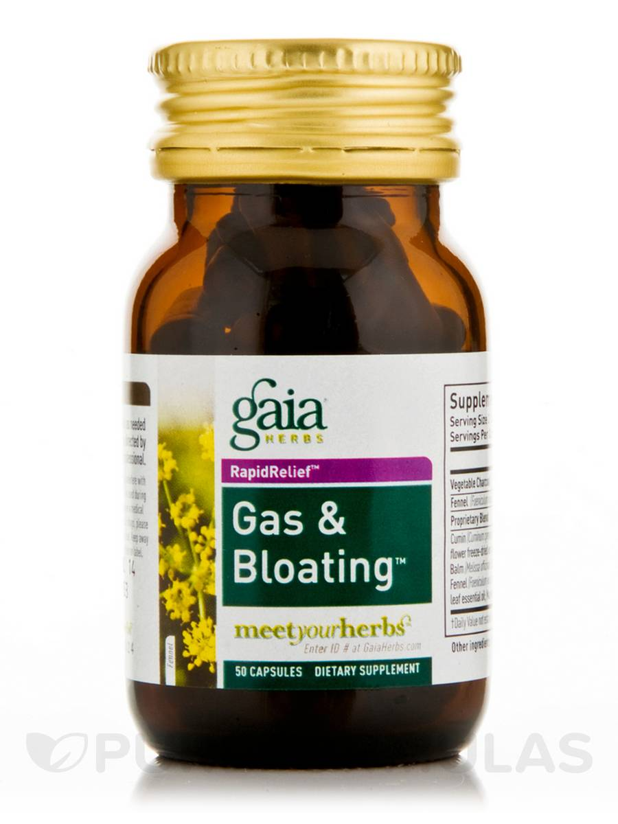 Gas and Bloating - 50 Capsules