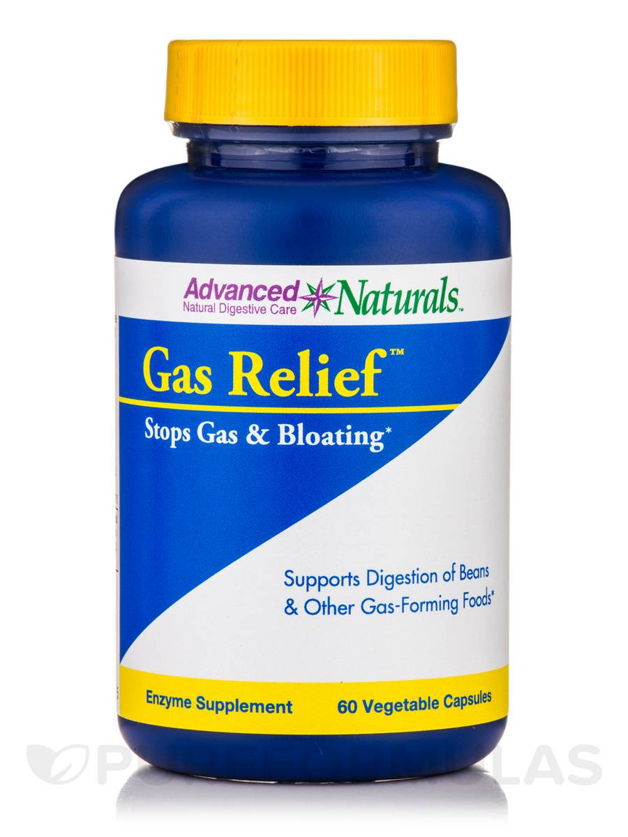 Gas Relief - 60 Vegetable Capsules