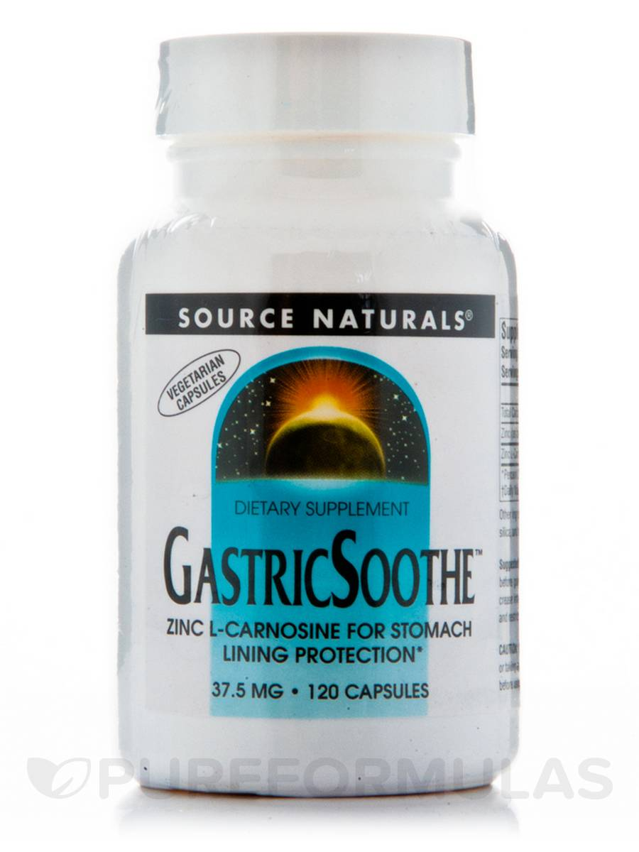 Gastric Soothe - 120 Vegetarian Capsules
