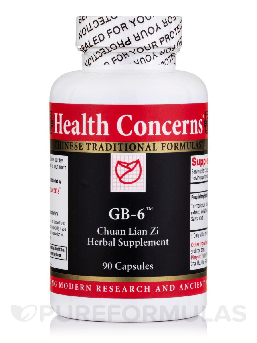 GB-6 - 90 Tablets