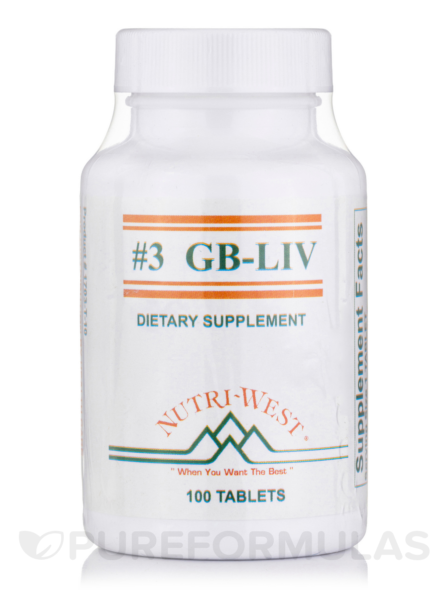 GB-LIV (#3) (Herbals) - 100 Tablets