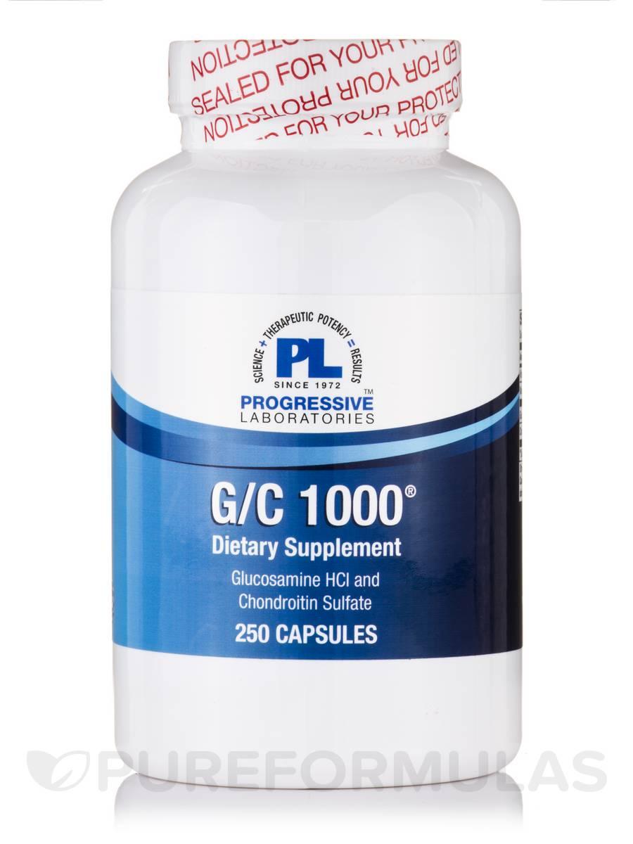 G/C 1000 - 250 Capsules