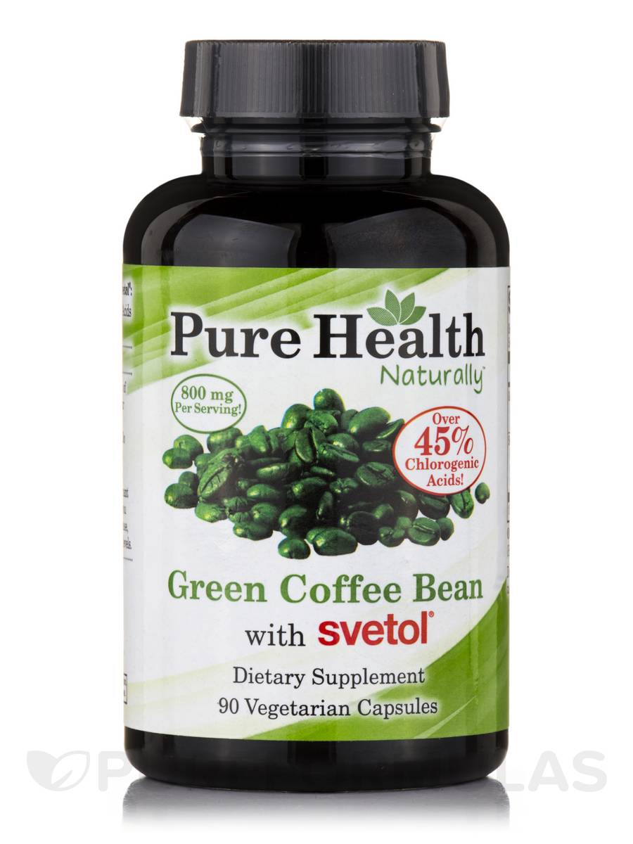 Green Coffee Bean with Svetol - 90 Vegetarian Capsules