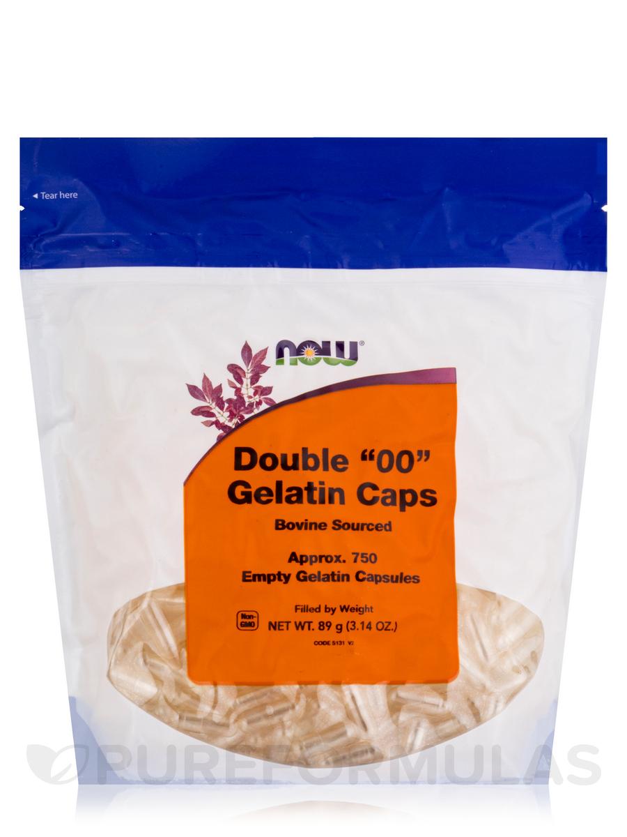 Double '00' Gelatin Caps - 750 Empty Capsules