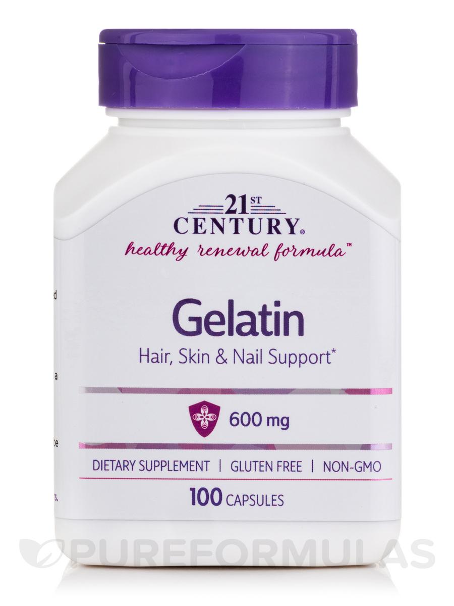 What are gelatin capsules