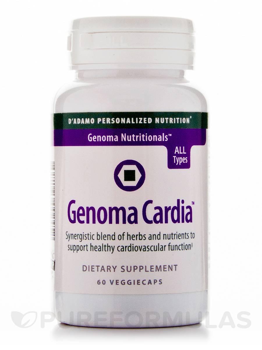 Genoma Cardia - 60 Veggie Capsules