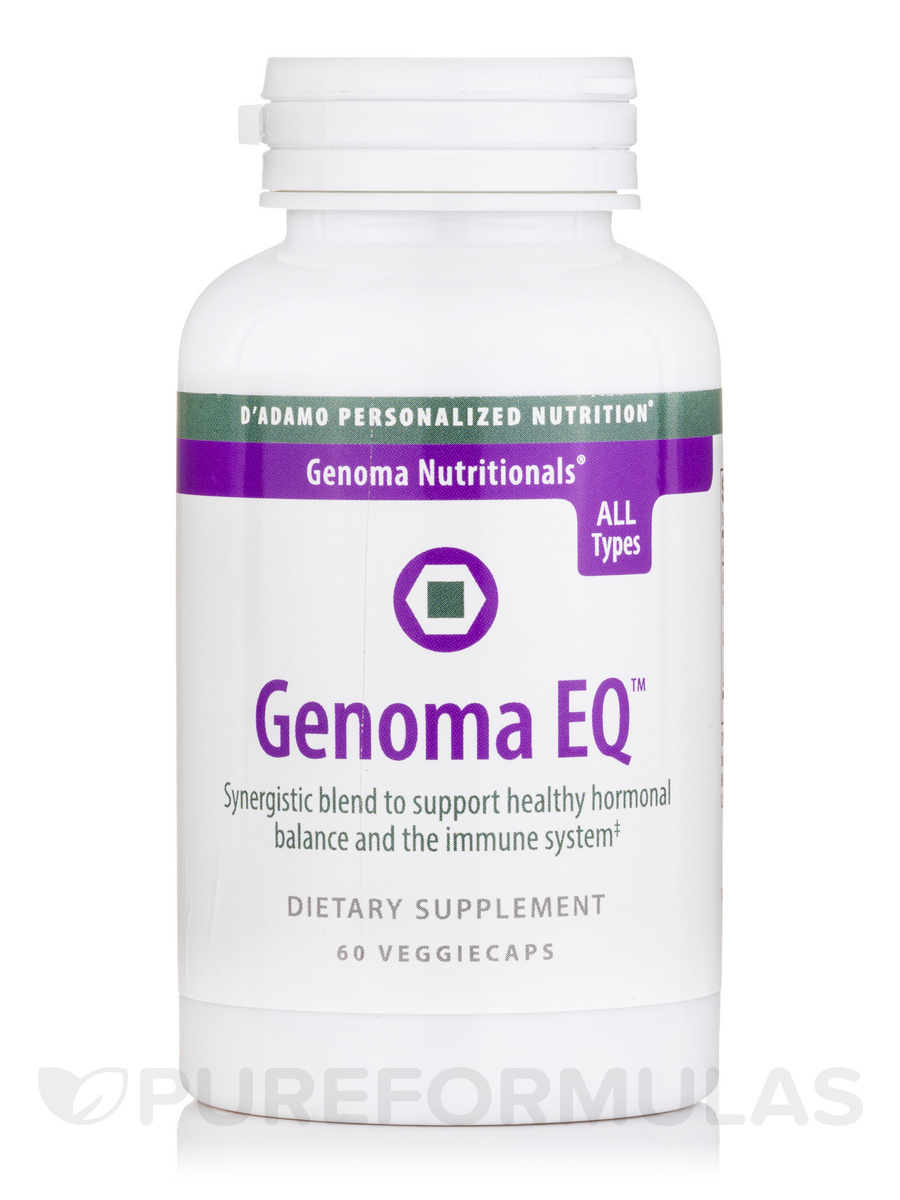 Genoma EQ - 60 Veggie Capsules