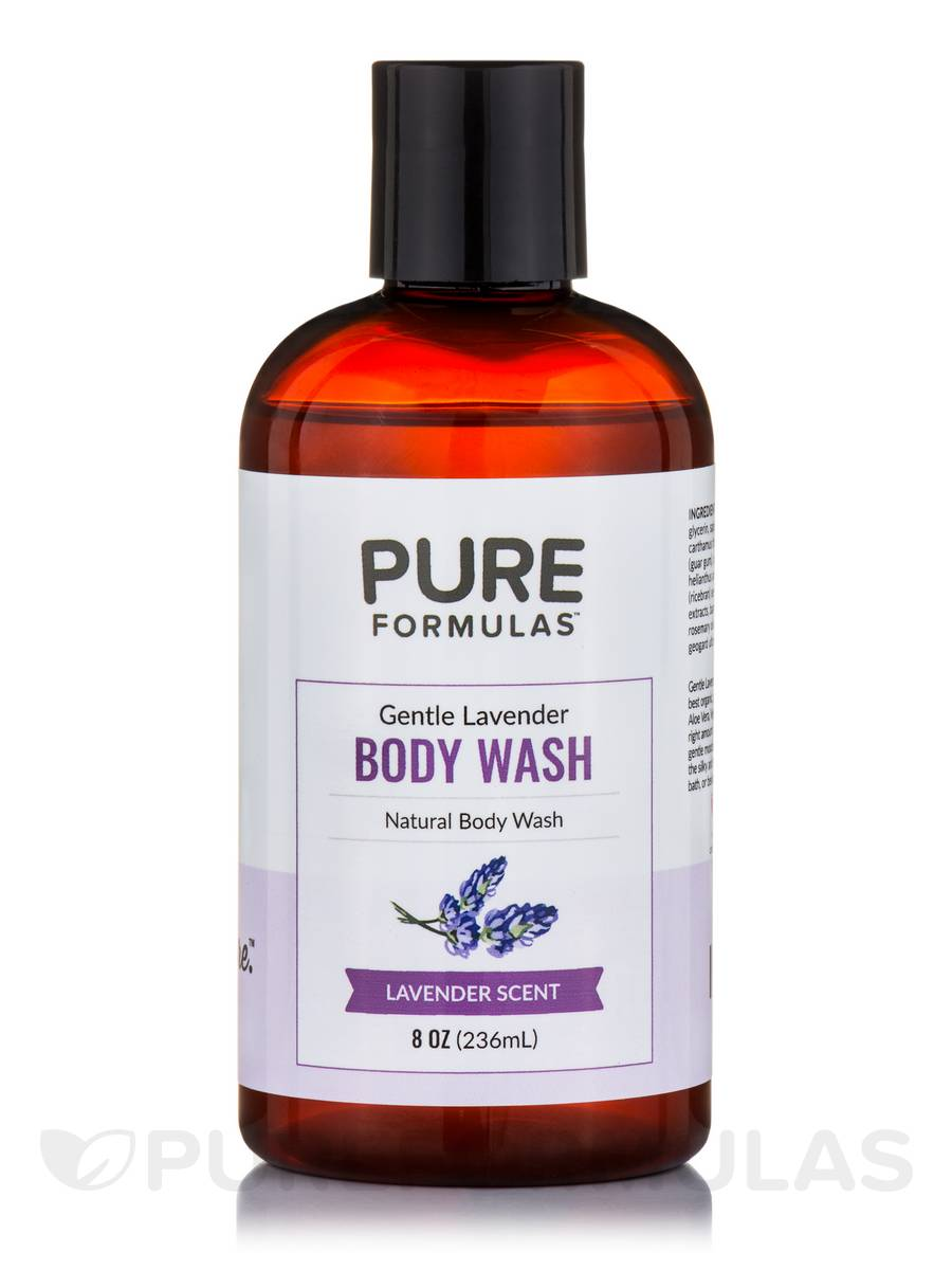 Gentle Lavender Body Wash - 8 oz (236 ml)