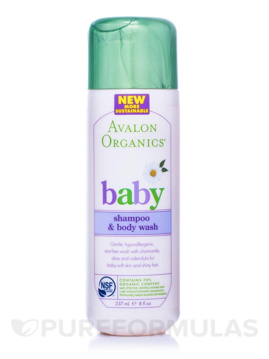 Gentle Tear Free Baby Shampoo & Body Wash - 8 fl. oz (237 ml)