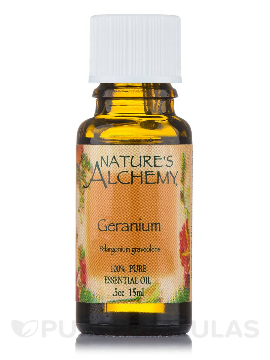 Geranium Pure Essential Oil - 0.5 oz (15 ml)