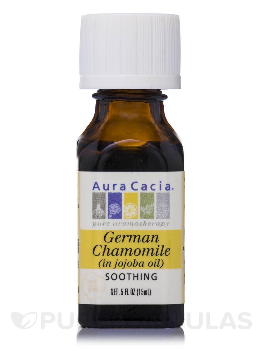 German Chamomile (in Jojoba Oil) - 0.5 fl. oz (15 ml)