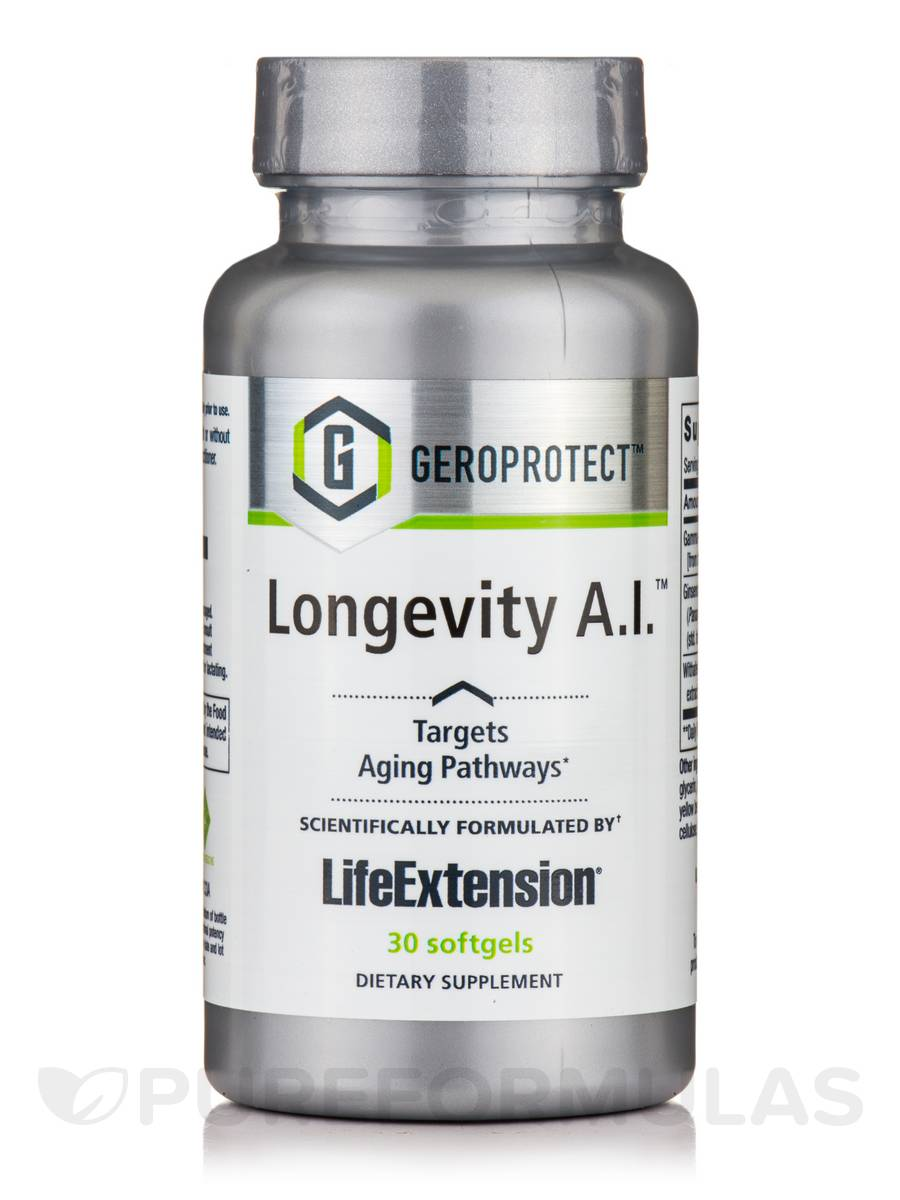 GEROPROTECT™ Longevity A.I.™ - 30 Softgels
