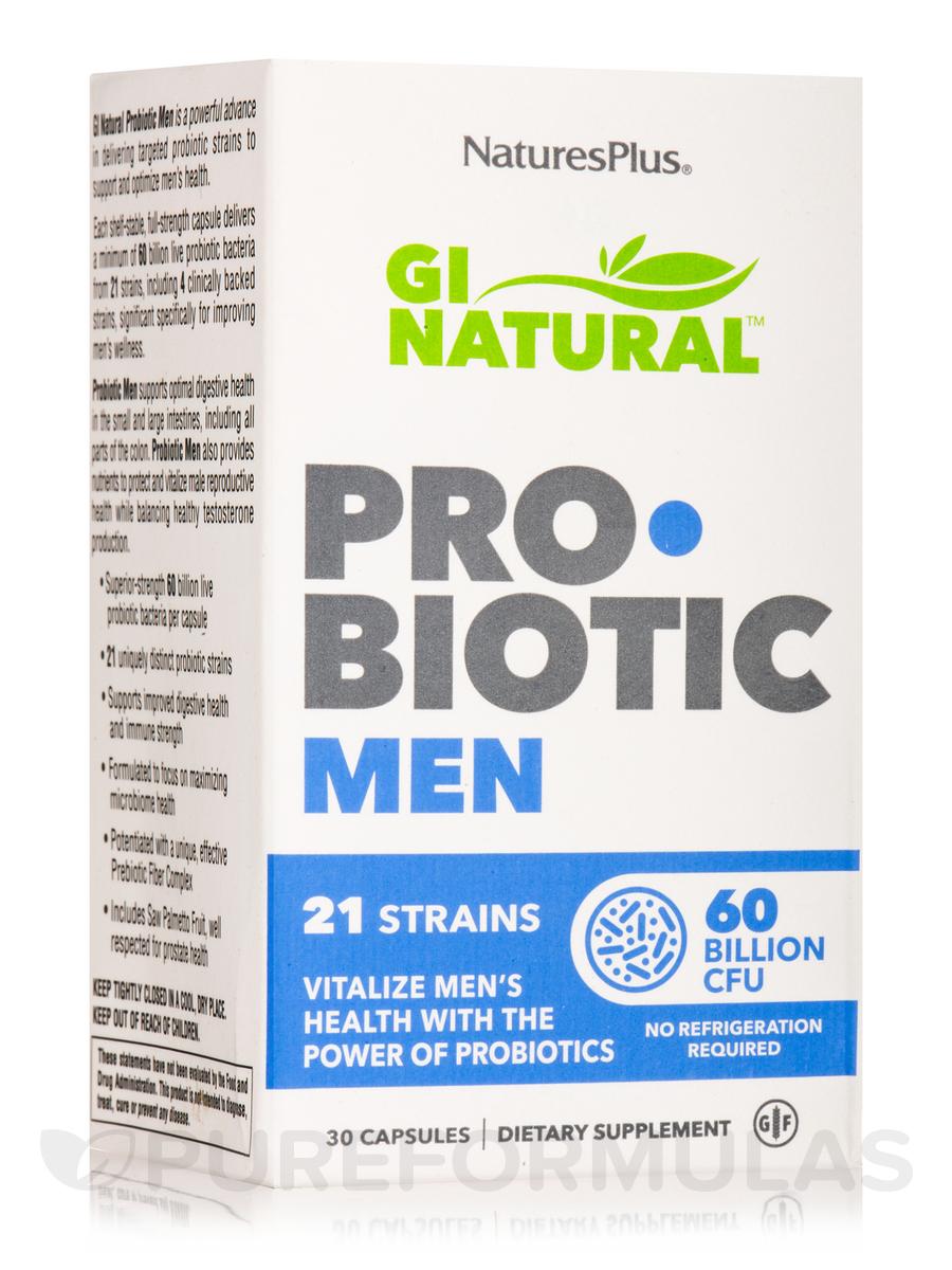 GI Natural™ Probiotic Men - 30 Capsules