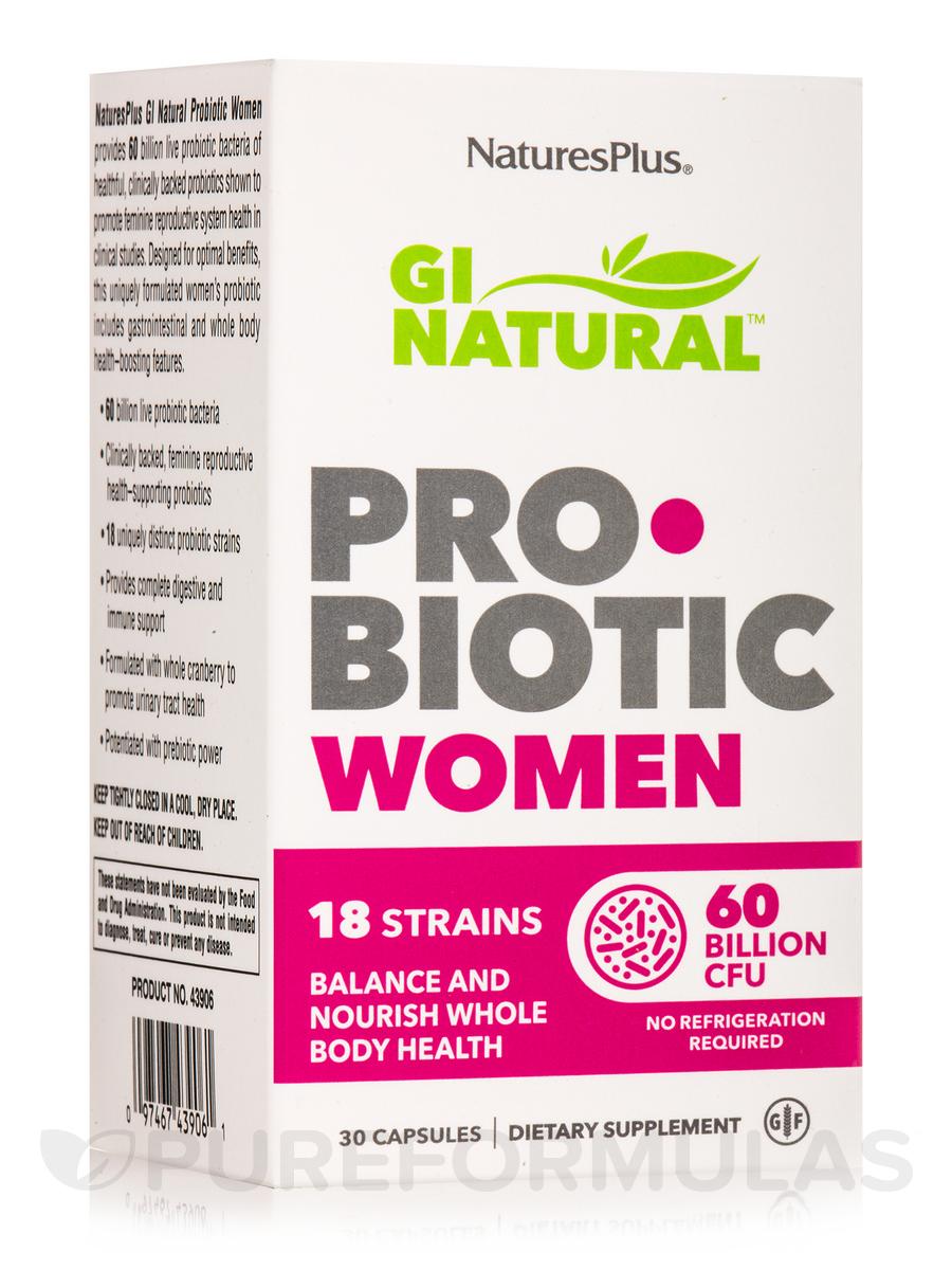 GI Natural™ Probiotic Women - 30 Capsules