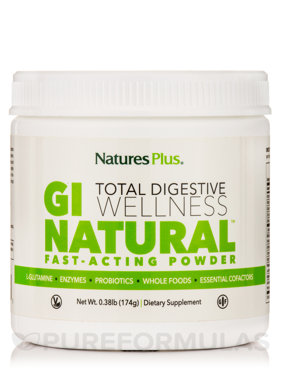 GI Natural™ Total Digestive Wellness Fast-Acting Powder - 0.38 lb (174 Grams)