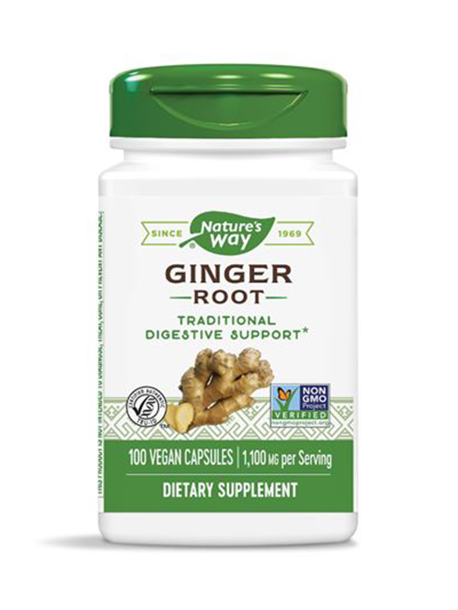 Ginger Root - 100 Vegan Capsules