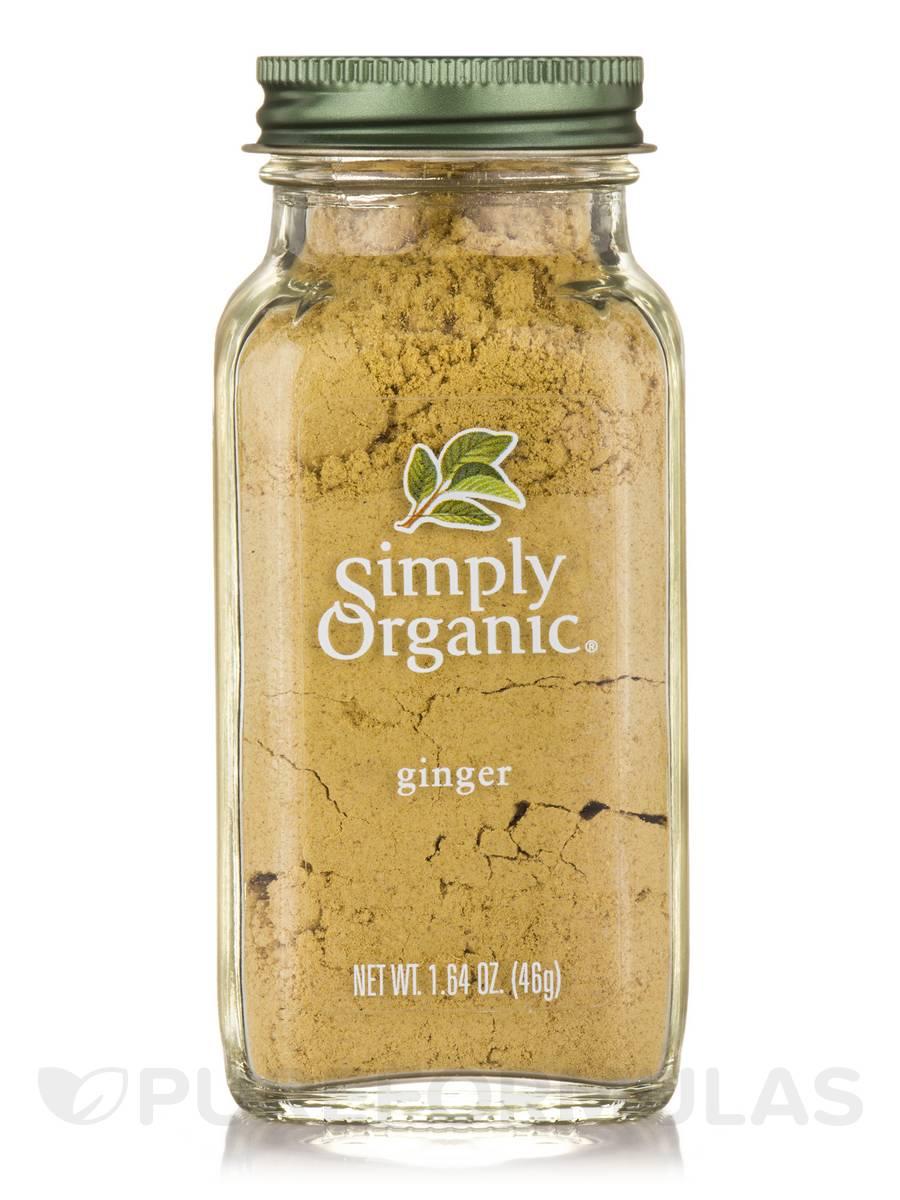 Ground Ginger Root - 1.64 oz (46 Grams)