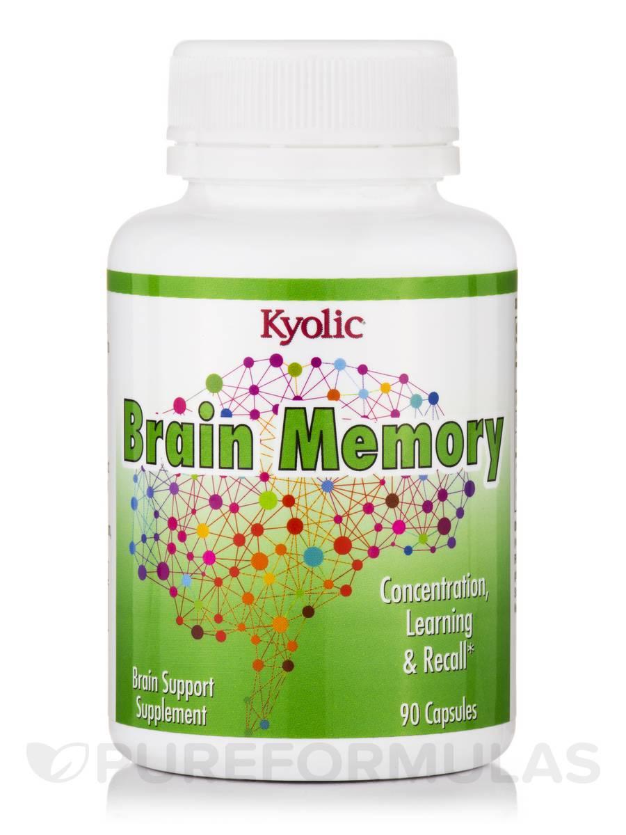 Brain Memory - 90 Capsules