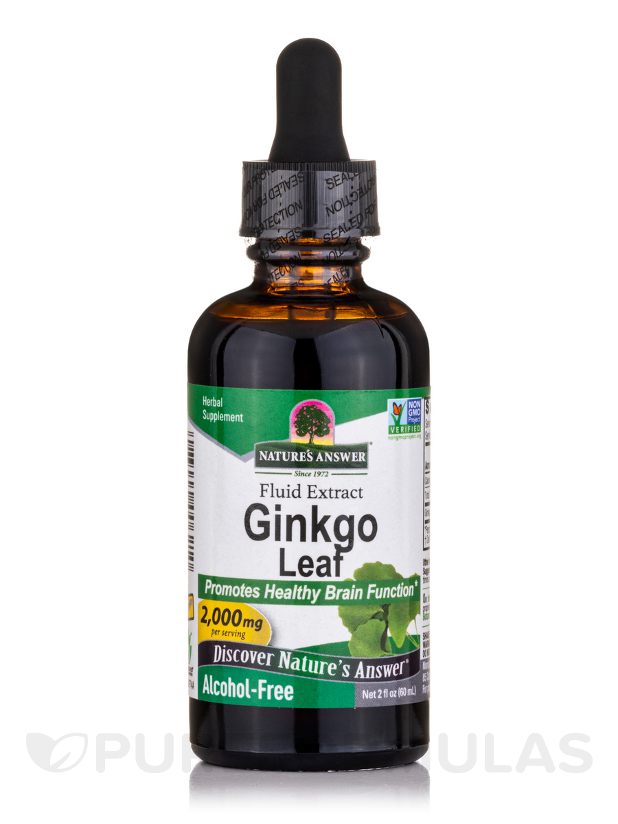 Ginkgo Leaf (Alcohol Free) - 2 fl. oz (60 ml)