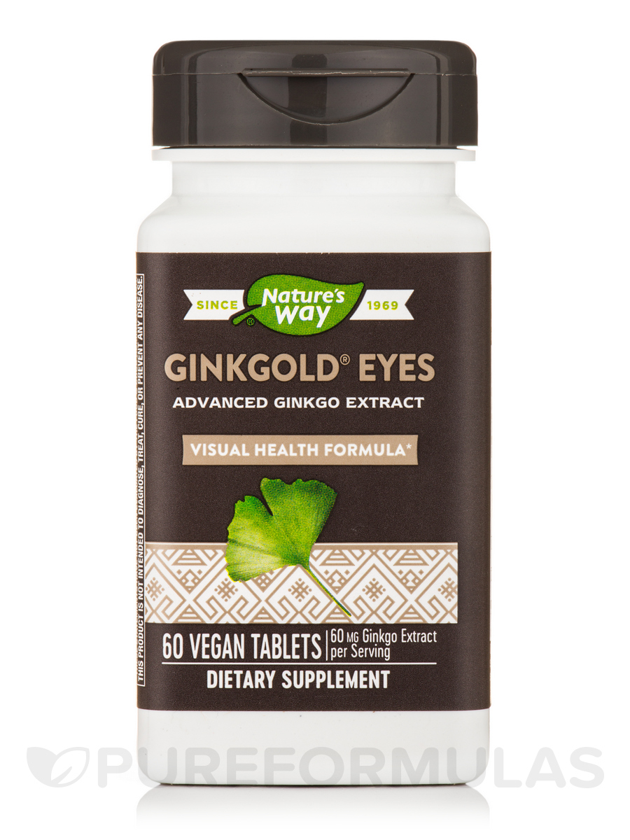 Ginkgold Eyes Plus 20 mg Lutein - 60 Tablets