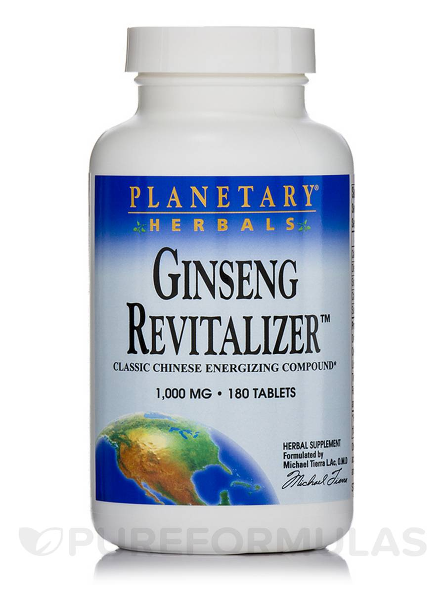 Ginseng Revitalizer 1000 mg - 180 Tablets